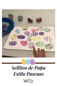 Sellitos de Papa: Estilo Huevitos de Pascuas