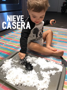 Nieve casera: Let it snow!