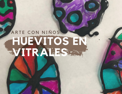 Huevitos en Vitrales: Un Craft de Pascuas